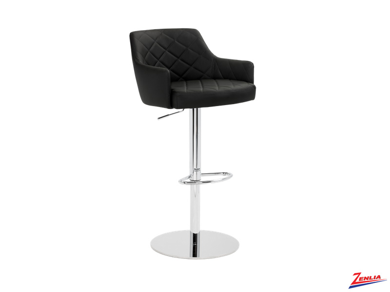 Chas Adjustable Stool Onyx