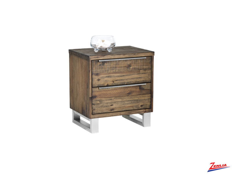 Rhod Nightstand Brown