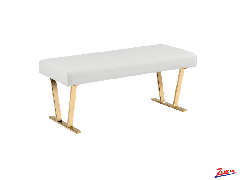 Keel Bench White