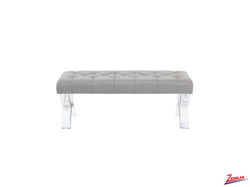 Monro Bench Grey