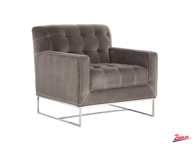 Alex Armchair Grey