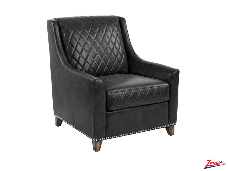 Berga Armchair Black