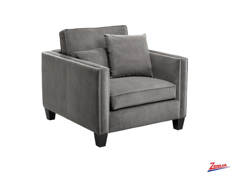 Cathe Armchair Grey