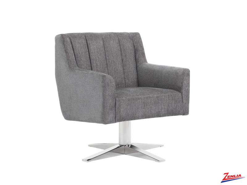 Cent Swivel Chair Grey