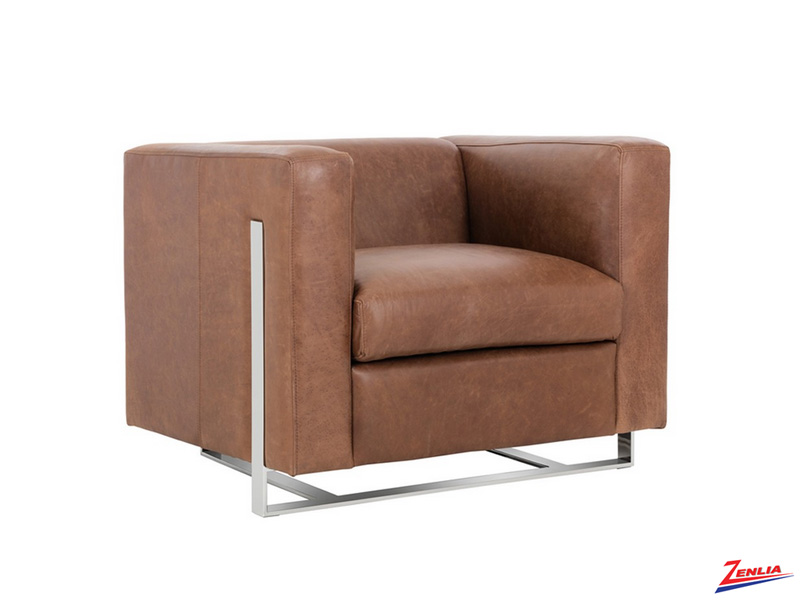Keat Armchair Brown