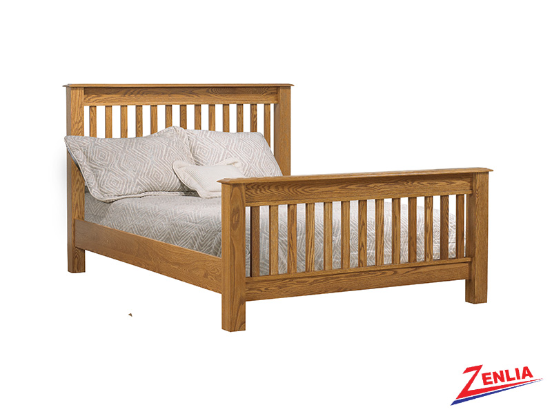 Country Slat Bed