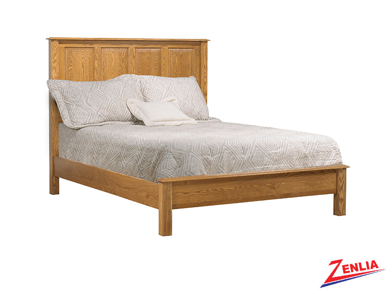 Country Low Footboard Bed