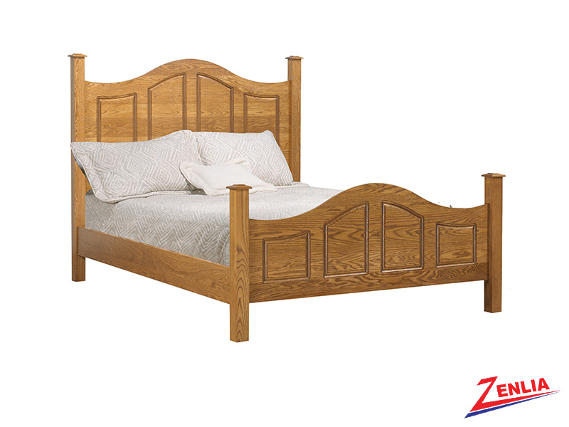 Country Curved Panel Bed