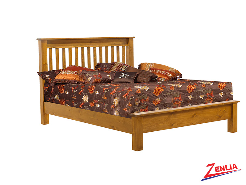 Lake Low Footboard Bed
