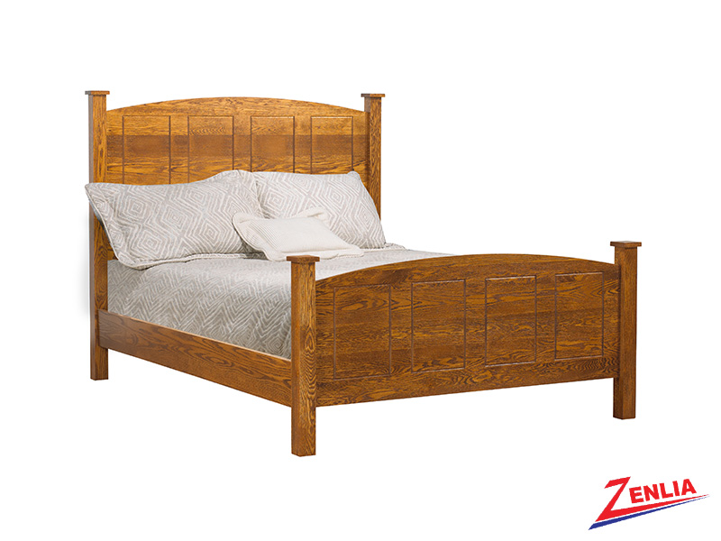 Miss Round Top Panel Bed