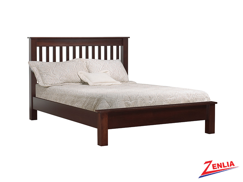 Mont Slat Low Footboard Bed
