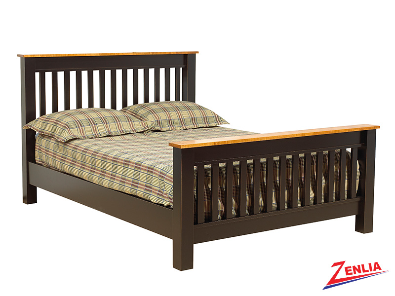 Rust Slat Bed