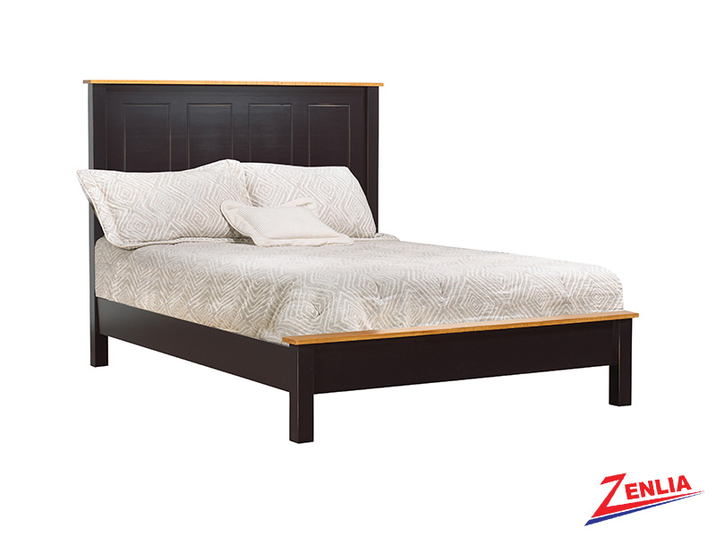 Rust Low Footboard Bed