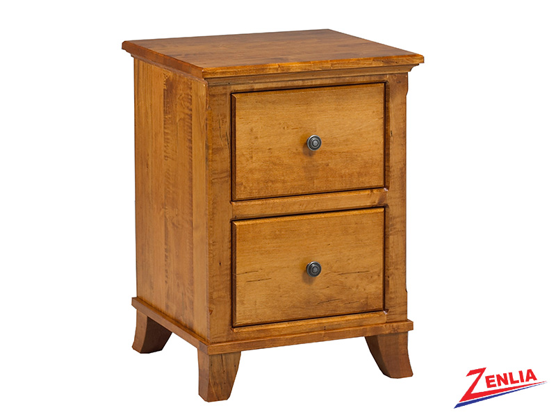 Bour 2 Drawer Night Stand Small