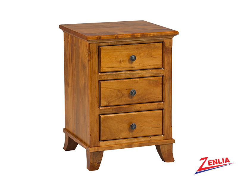Bour 3 Drawer Night Stand Small