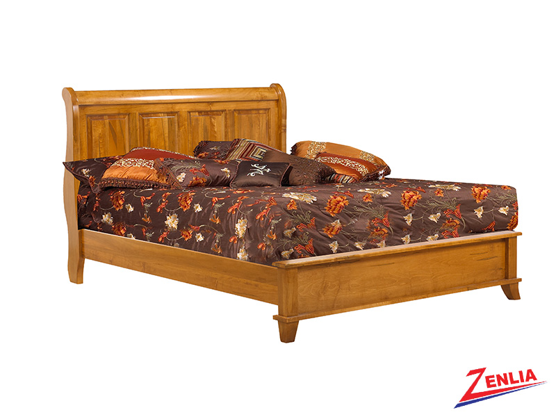 Bour Low Footboard Bed