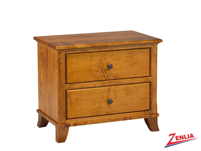 Bour 2 Drawer Night Stand Large