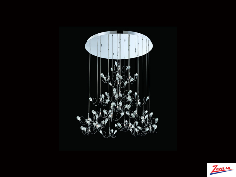Vola 25 Light Pendant Chrome