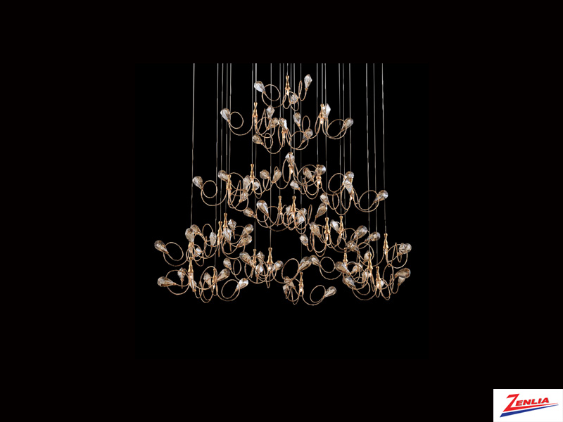 Vola 25 Light Pendant Gold