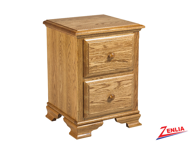 Country 2 Drawer 1 Night Stand Small