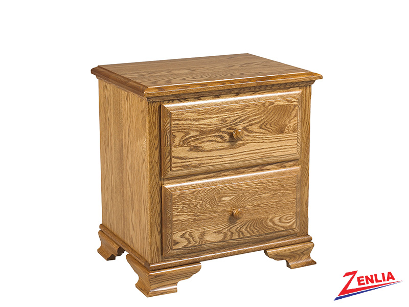 Country 2 Drawer Night Stand Large