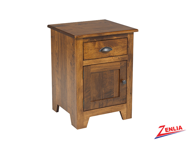 Lake 1 Drawer 1 Door Night Stand Small