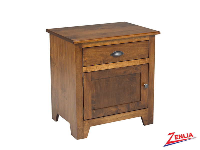 Lake 1 Drawer 1 Door Night Stand Large