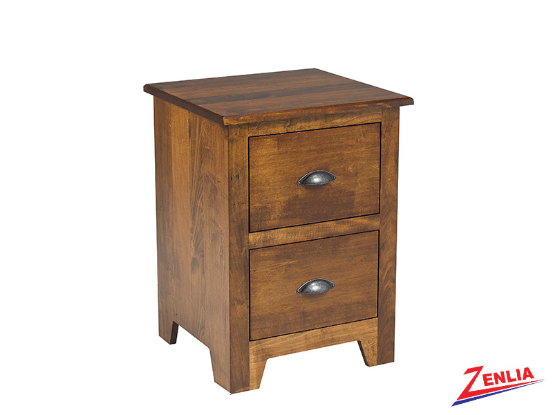 Lake 2 Drawer Night Stand Small