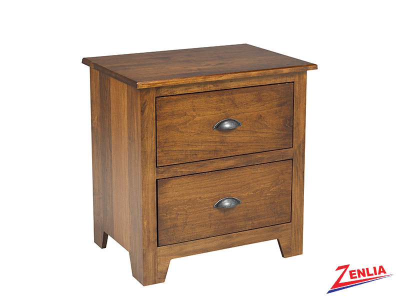 Lake 2 Drawer Night Stand Large