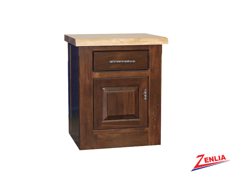 Live 1 Drawer 1 Door Night Stand Small