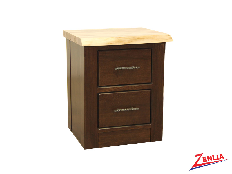 Live 2 Drawer Night Stand Small