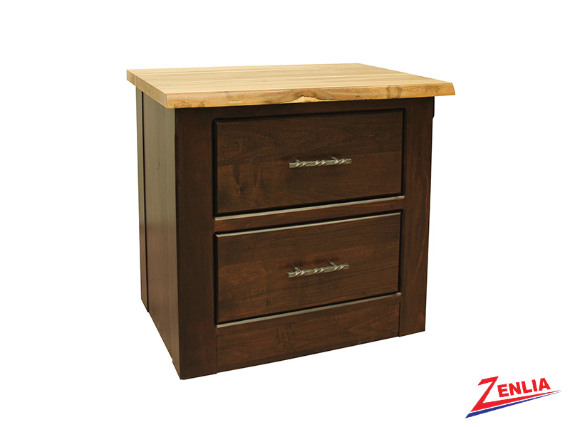 Live 2 Drawer Night Stand Large