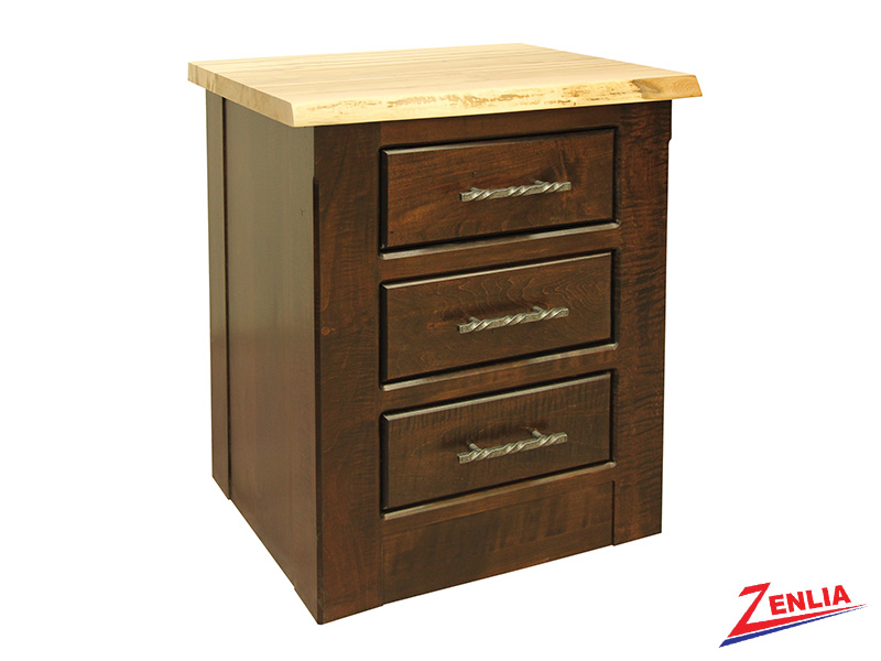 Live 3 Drawer Night Stand Small