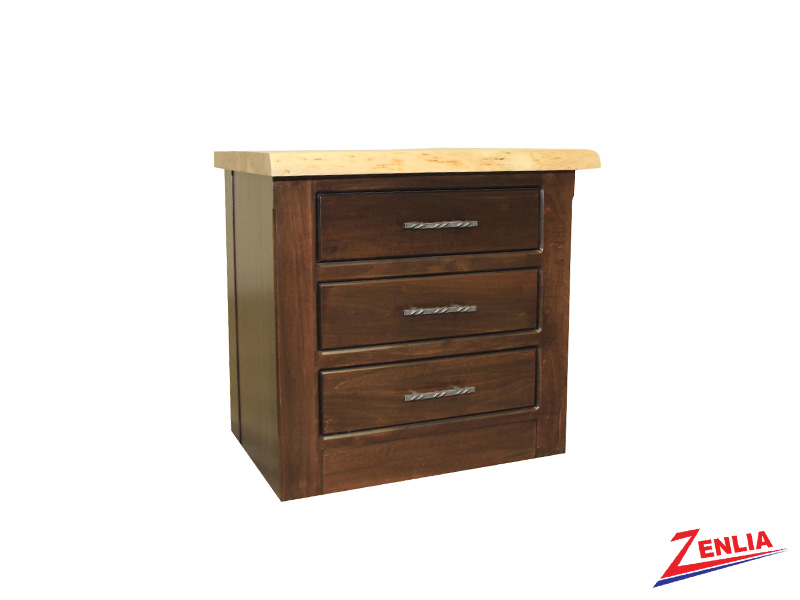 Live 3 Drawer Night Stand Large