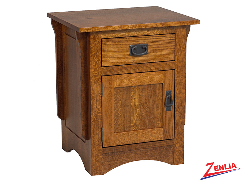 Miss 1 Drawer 1 Door Night Stand Small