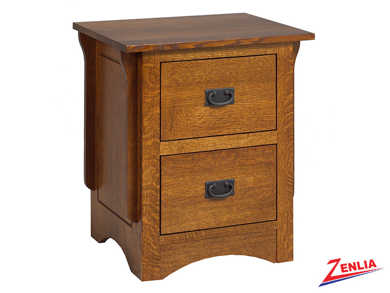 Miss 2 Drawer Night Stand Small