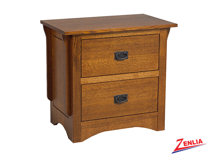 Miss 2 Drawer Night Stand Large