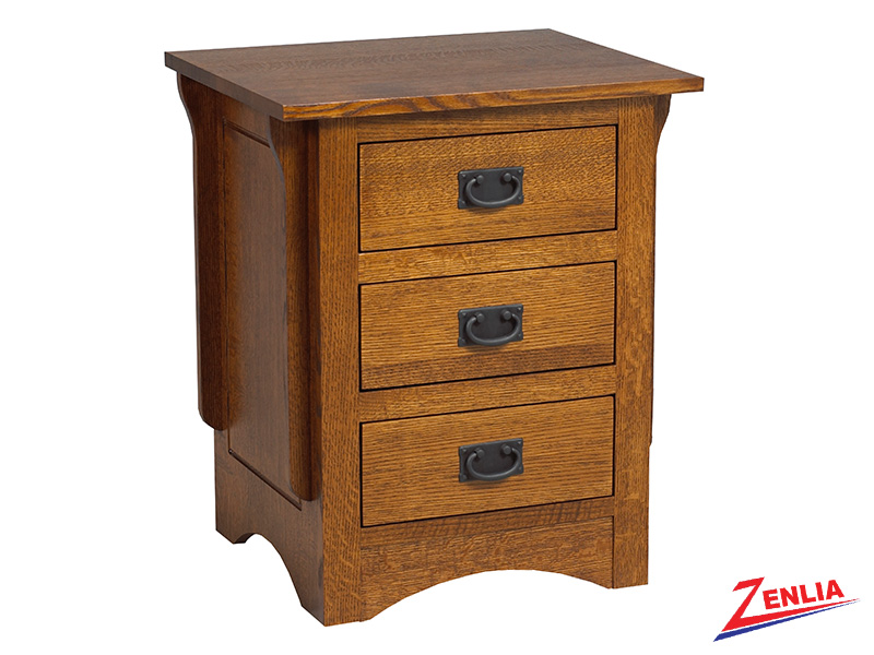 Miss 3 Drawer Night Stand Small