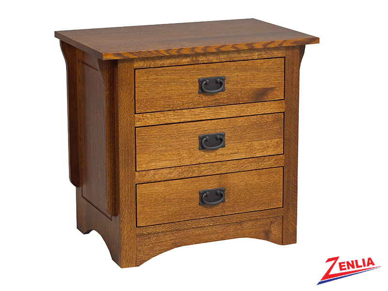 Miss 3 Drawer Night Stand Large