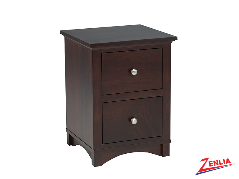 Mont 2 Drawer Night Stand Small