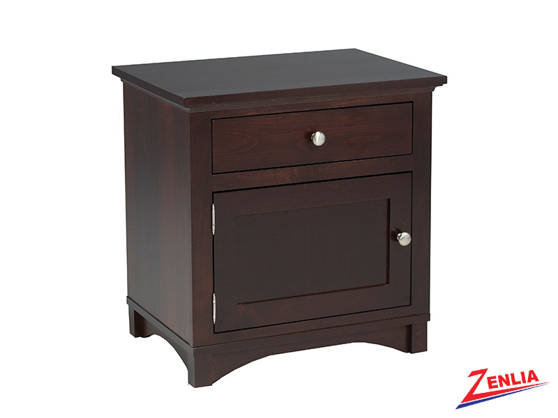 Mont 1 Drawer 1 Door Night Stand Large