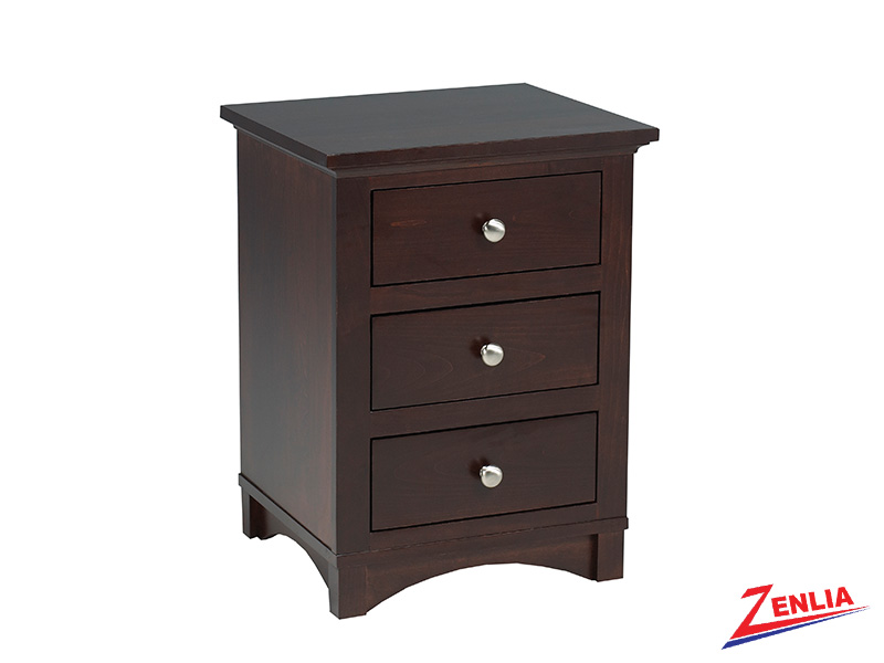 Mont 3 Drawer Night Stand Small