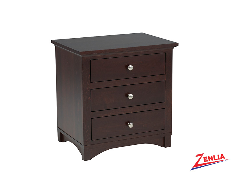 Mont 3 Drawer Night Stand Large