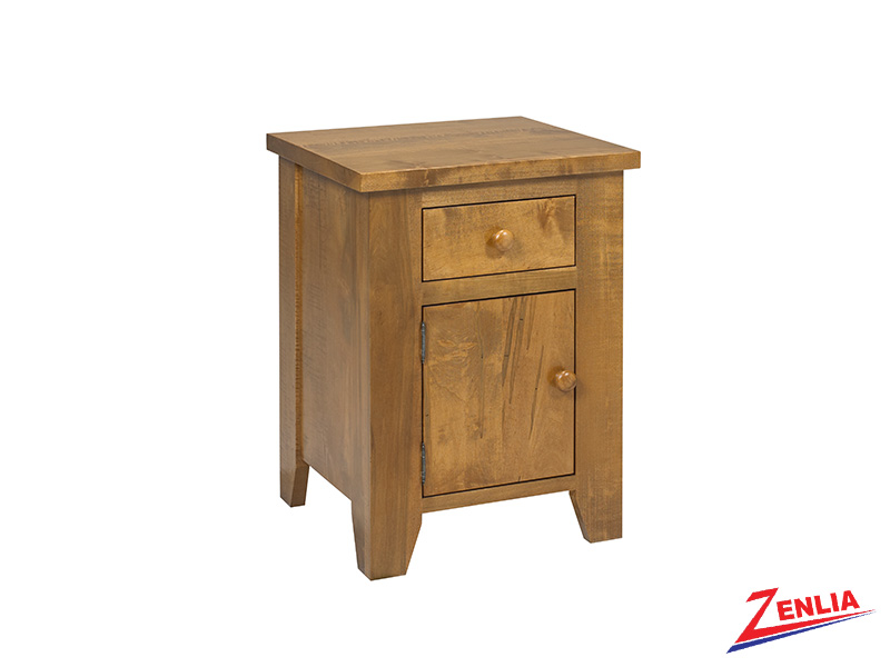 Ruff 1 Drawer 1 Door Night Stand Small