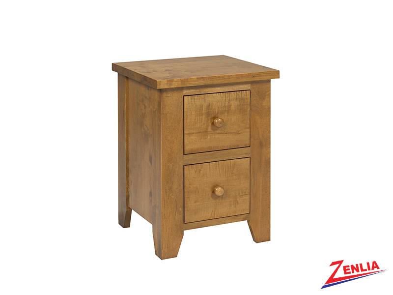 Ruff 2 Drawer Night Stand Small