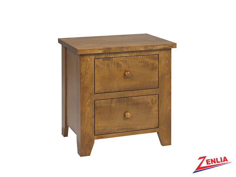 Ruff 2 Drawer Night Stand Large