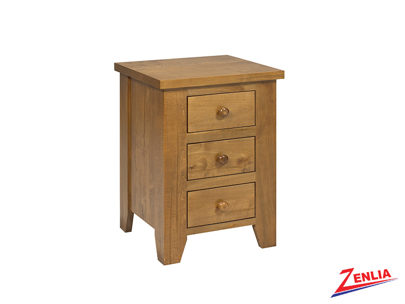Ruff 3 Drawer Night Stand Small