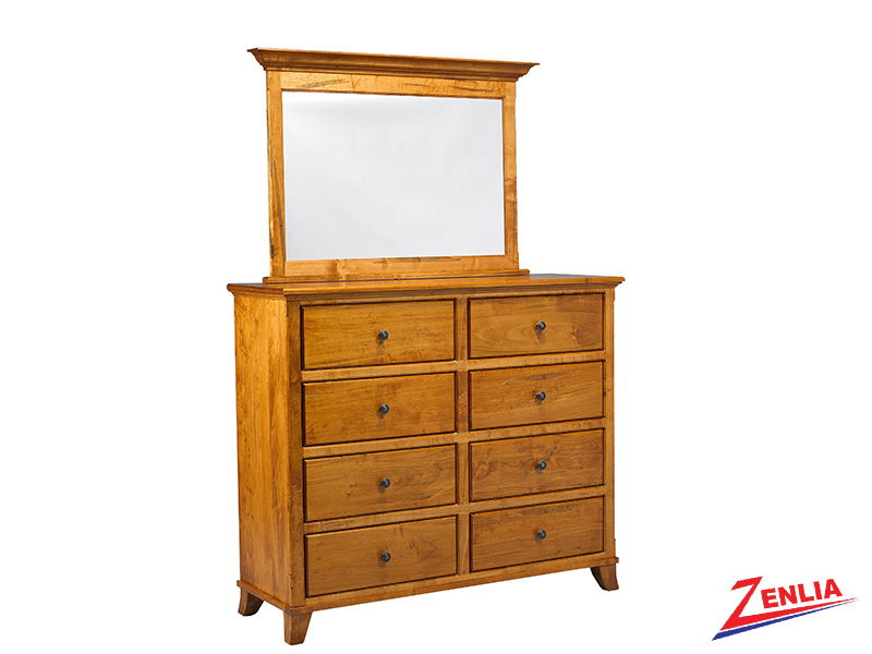 Bour 8 Drawer Dresser And Mirror