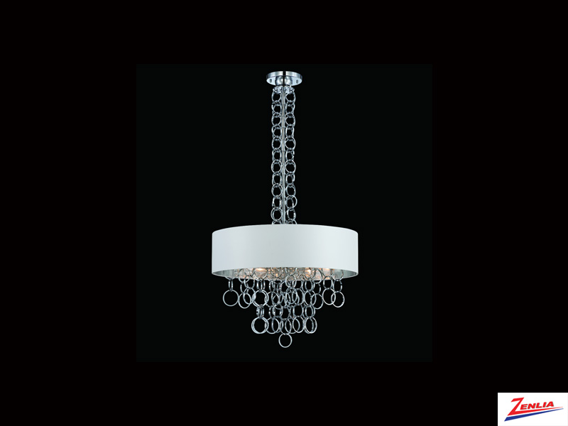 Novel 8 Light Pendant Chrome