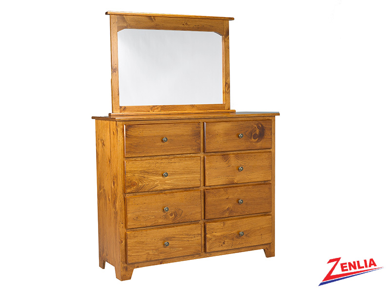 Have 8 Drawer Dresser And Mirror